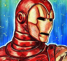Invicible Iron Man by Mark Gagne