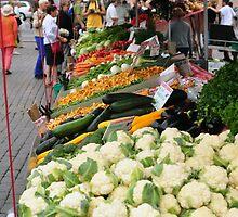 Farmers Market, Helsinki, Finland by James J. Ravenel, III
