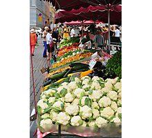 Farmers Market, Helsinki, Finland Photographic Print