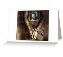 Are we bound by the way we're wired? Greeting Card