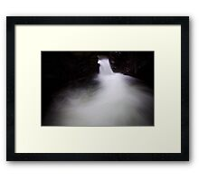 The Devil's Cauldron Framed Print