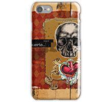 Love is MUERTE iPhone Case/Skin