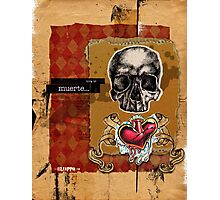 Love is MUERTE Photographic Print