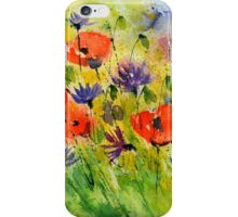 Poppies 5170 iPhone Case/Skin