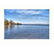Lake Wisconsin Art Print