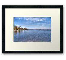 Lake Wisconsin Framed Print
