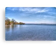Lake Wisconsin Canvas Print