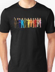 Hilary's Rainbow Pantsuits  Unisex T-Shirt