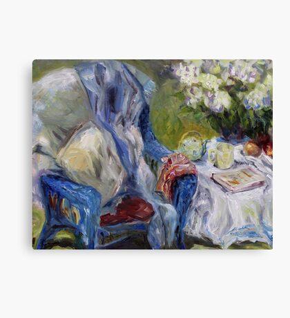 Spring Tea Canvas Print