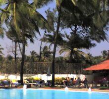 South Beach Swiming Pool Sticker