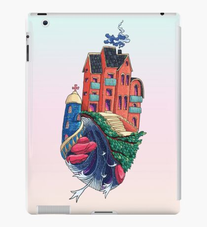 Hand Castle iPad Case/Skin