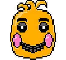 toy chica pixel fanart Photographic Print