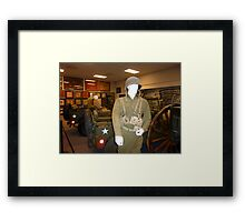 Soldiers Of Time Framed Print