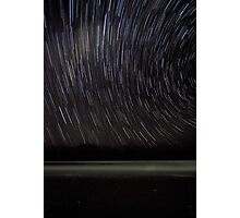 The Star Trail Experience - Old Bar Beach Australia Photographic Print