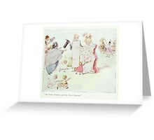 The Happy Heart Family Virginia Gearson 1907 0061 Funny and Fancy Valentine Greeting Card