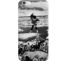 BW USA Alaska eskimo blanket tossing 1970s iPhone Case/Skin