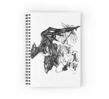 Shape Cluster B Spiral Notebook