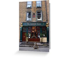 Smithfield Tavern Pub In London Greeting Card