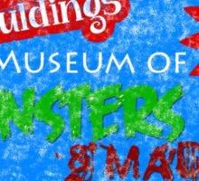 Captain Spauldings Museum of Monsters & Madmen Sticker