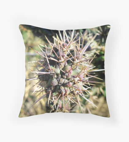 Thorny Throw Pillow