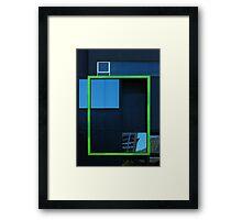 Windows, framed Framed Print