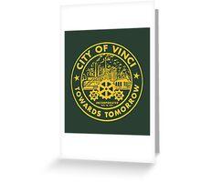 True Detective - City of Vinci logo or Greeting Card