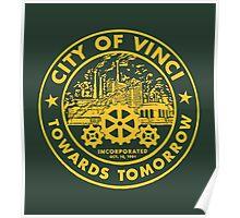 True Detective - City of Vinci logo or Poster