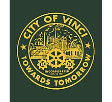 True Detective - City of Vinci logo or Photographic Print