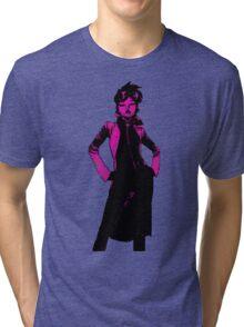 Jubilee X-Men Ink Scratch Tri-blend T-Shirt