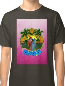 Tropical Sunset Pink Classic T-Shirt