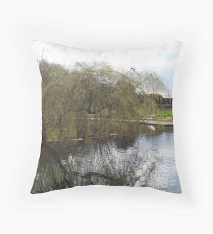 Weeping Reflections Throw Pillow