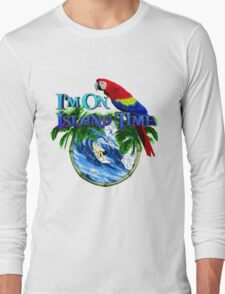 Island Time Surfing Long Sleeve T-Shirt