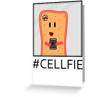Cellfie Greeting Card
