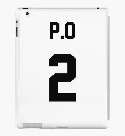 Block B P.O Jersey iPad Case/Skin