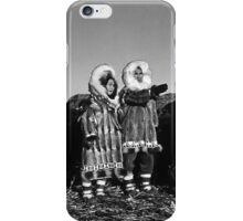 Fur clad eskimos of arctic alaska bu sod igloo 1970s iPhone Case/Skin