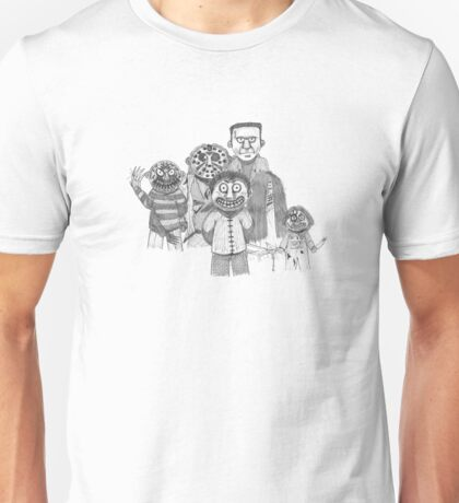 Movie Serial Killers - Group One Unisex T-Shirt