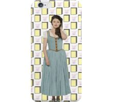 Belle French / Belle Gold Book And Cup Design (OUAT) iPhone Case/Skin