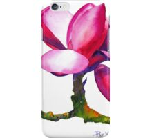 """Marwood Spring"" Magnolia Watercolor iPhone Case/Skin"