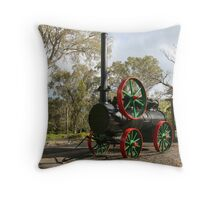 Traction Engine, Williamstown, SA Throw Pillow