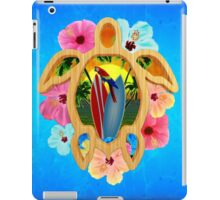Hawaiian Surfboard Sunset iPad Case/Skin