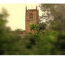 Skipton Church Tower Photographic Print