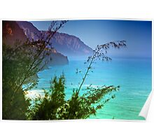 NaPali coast , early morning Poster