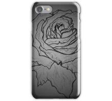 rose draft, dark iPhone Case/Skin