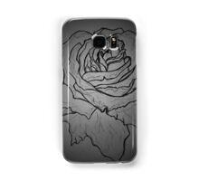 rose draft, dark Samsung Galaxy Case/Skin