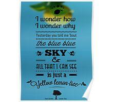 Lemon Tree - Fools Garden Poster