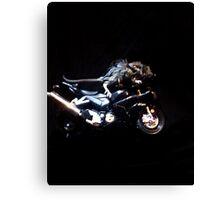 biker mouse Canvas Print