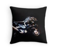 biker mouse Throw Pillow