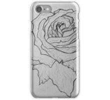 Rose draft, light iPhone Case/Skin