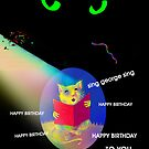 HAPPY BIRTHDAY, Boo, George the Singing Mouse-----and Marilyn! by luvapples downunder/ Norval Arbogast