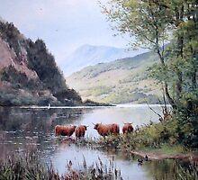 Loch Lubnaig, Scotland by JoeHush